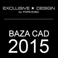 Bibliteka CAD DECOR 2015 z produktami EXCLUSIVE DESIGN
